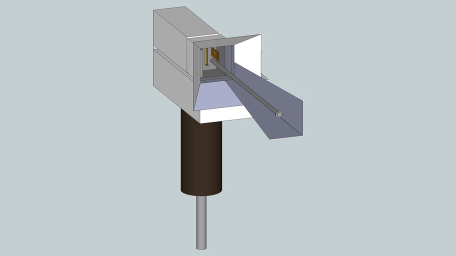 angle drawing four scanner niobium titonate base and indium strain guag