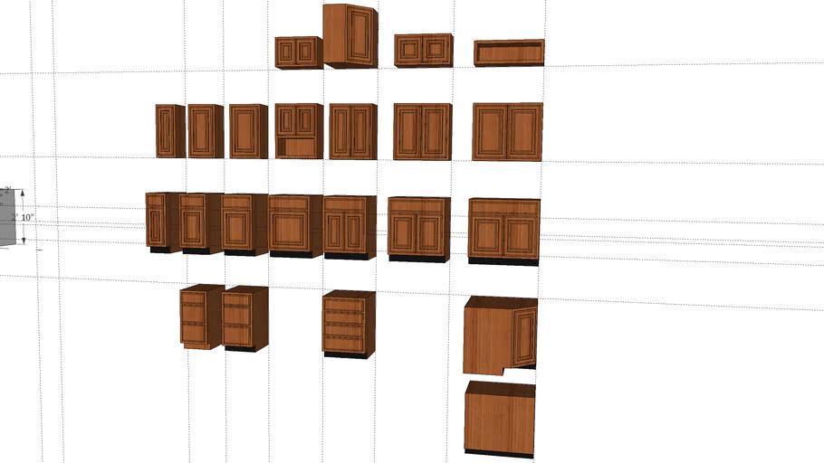 Kitchen Cabinet Components