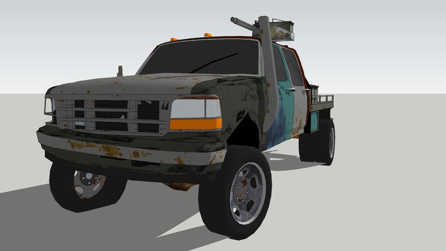 Anti-Zombie Truck 1 - Light class