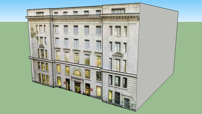 Edificio Estilo Ingles