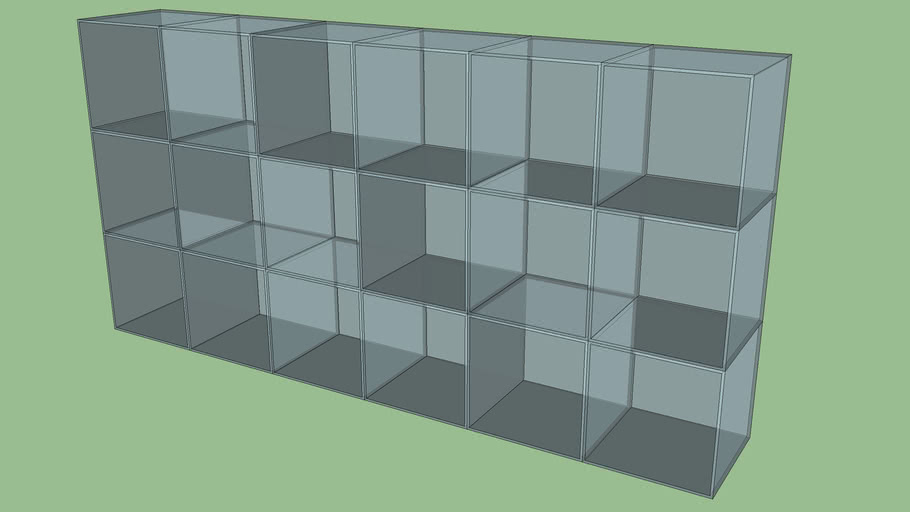 Glass Storage Cubes