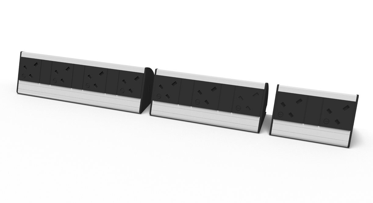 Desk power modules