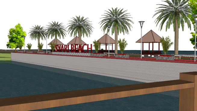 Revitalisasi Pantai Siyari, Kab. Mansel by Adi Kuling