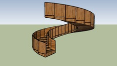 Stairs - wood