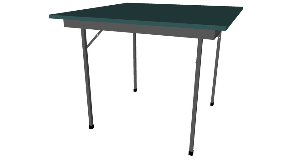 Folding Table 36inx36in - Detailed