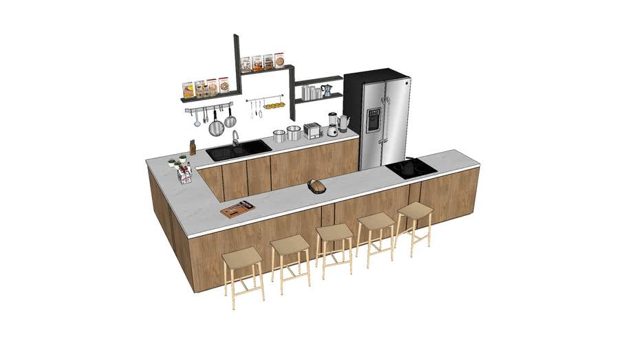 Cocina modelo
