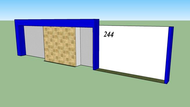 muro de casa