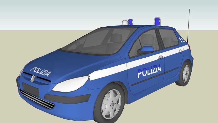Peugeot 106 POLIZIA