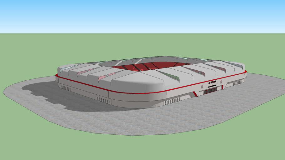 JD arena, new AFCB stadium (fantasy)