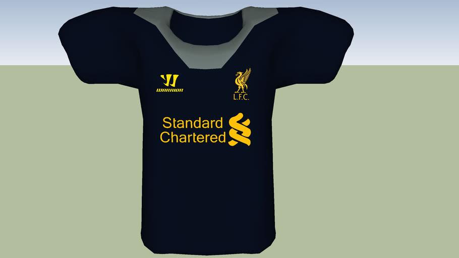 official Liverpool FC 2012-13 away shirt