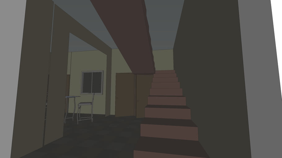 Plan for a small area house