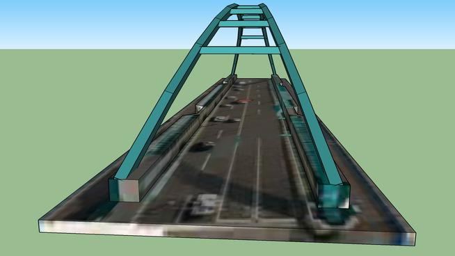 日本, 北海道札幌市南郷通りにある橋