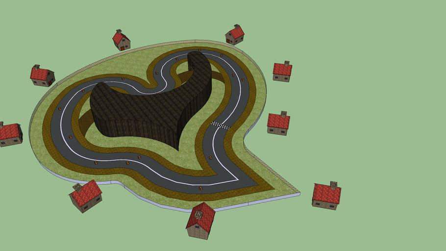 Mario Kart Wii CT: Love Town