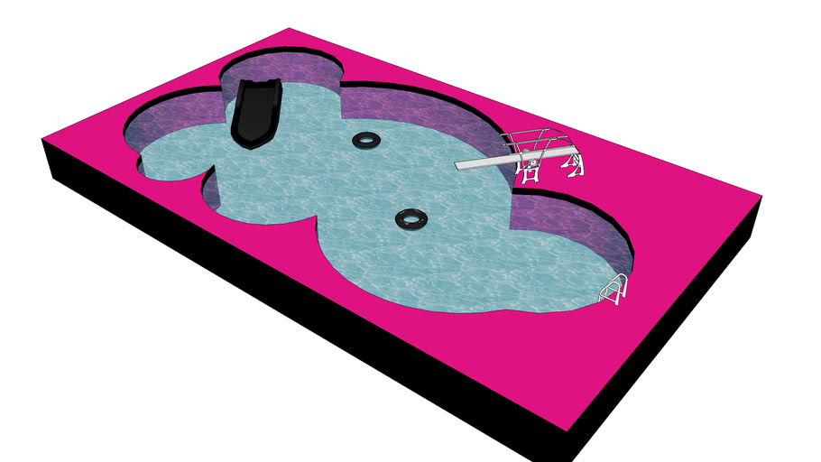 Rock 'n' Roll swimmin' pool!