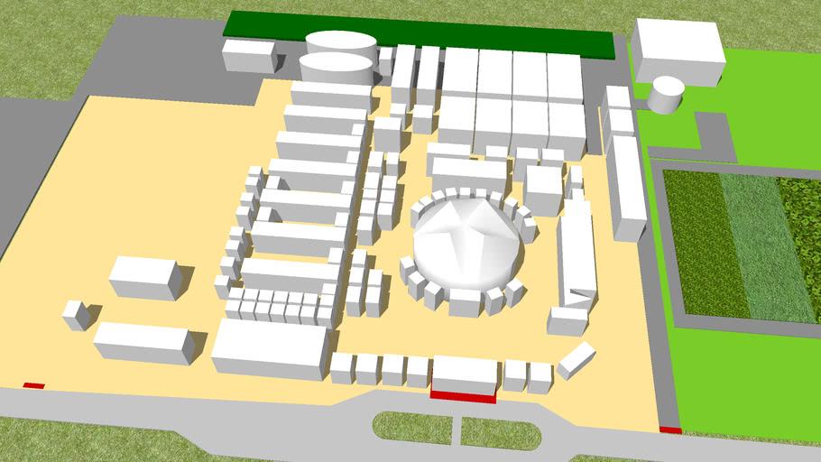Mapa do Agroleite 2008 em 3D