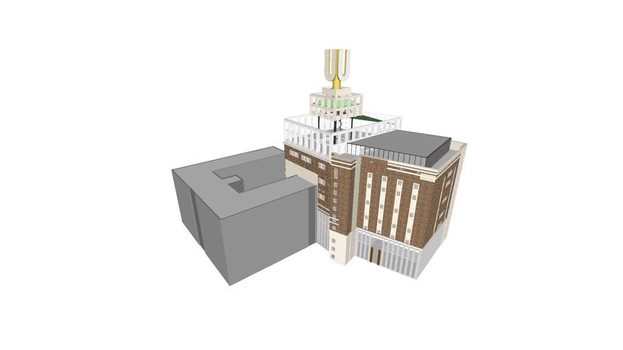 U-Turm Dortmund Wettbewerbsentwurf