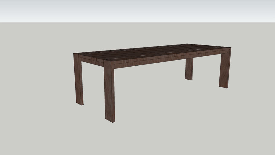 CI - Cambria Teak Indoor Outdoor dining table