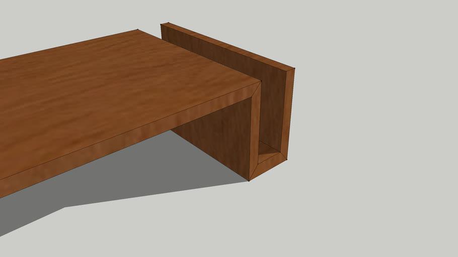 Modern coffee table (rosmini woodtech)