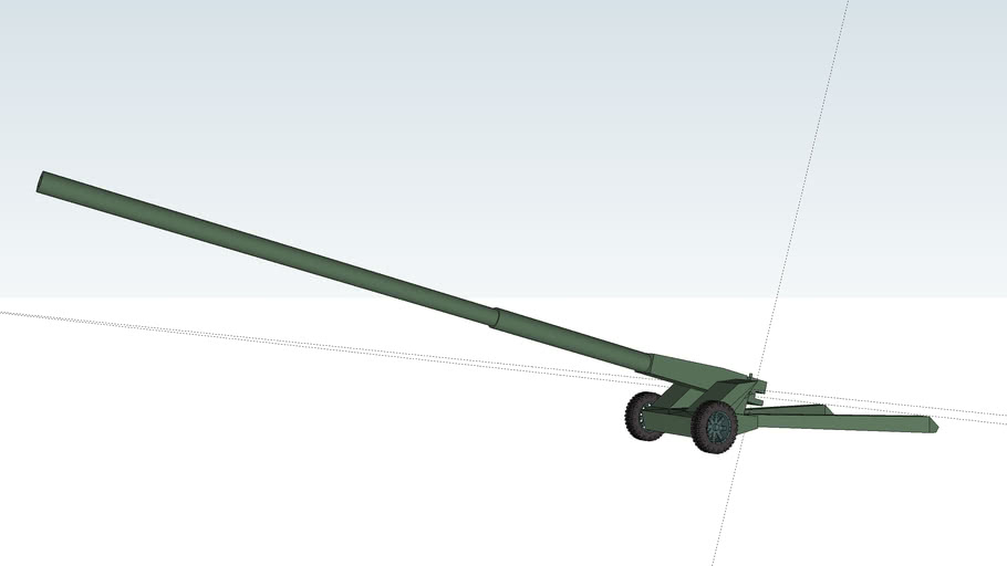A-53-1 howitzer 155mm L/75