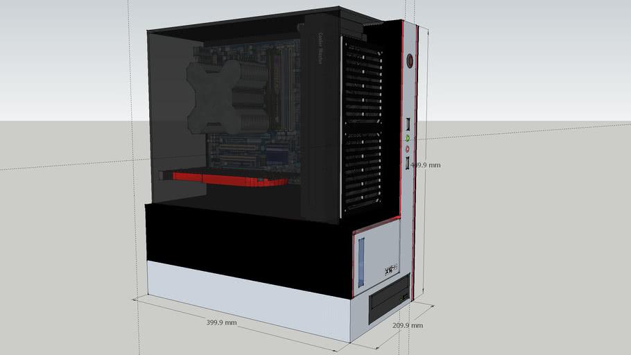 2loud atx computer case