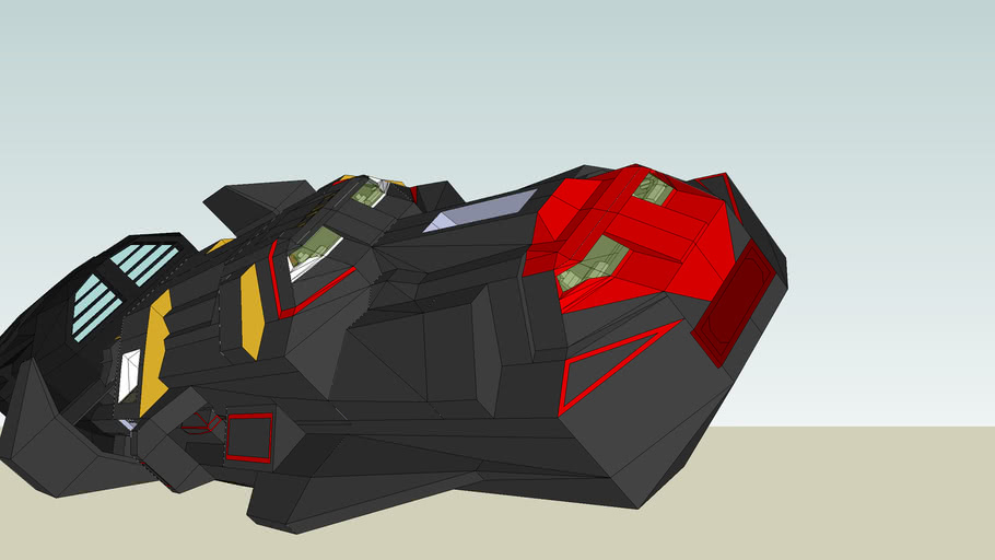 Space Medium patrol ship