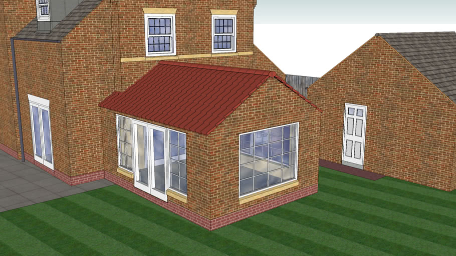 Conservatory Extension Glass