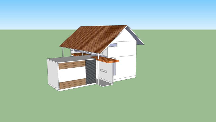 Rencana rumah kebun bibi