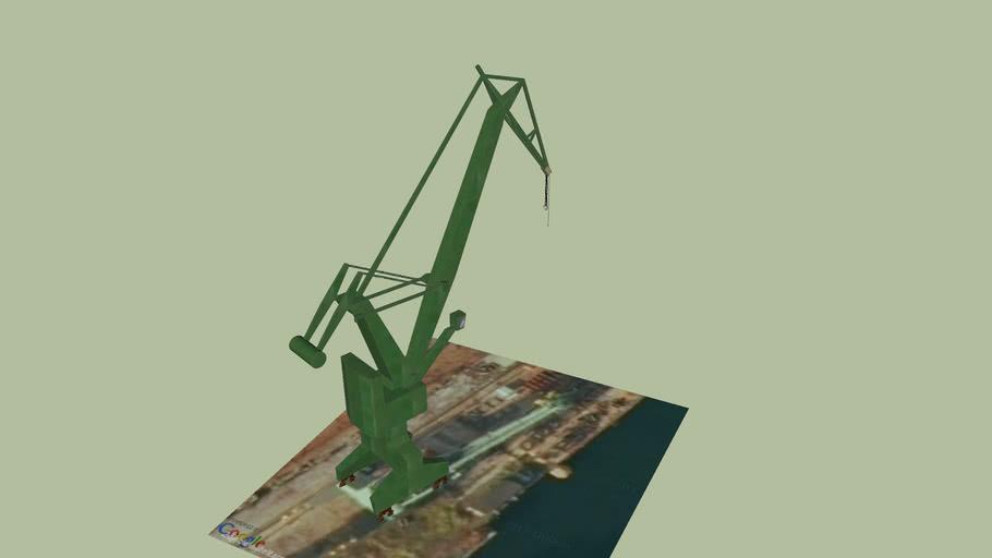 Żuraw portowy Gdańsk
