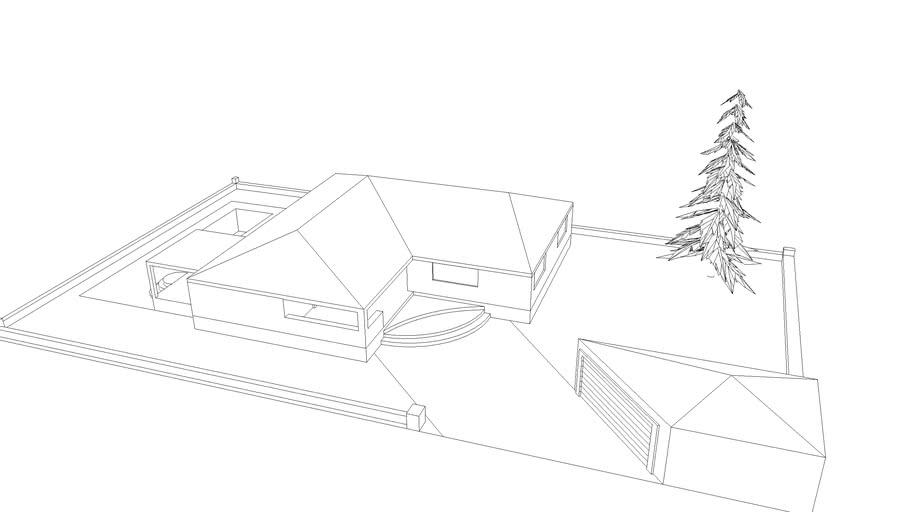 Maison Simple Avec Piscine 3d Warehouse