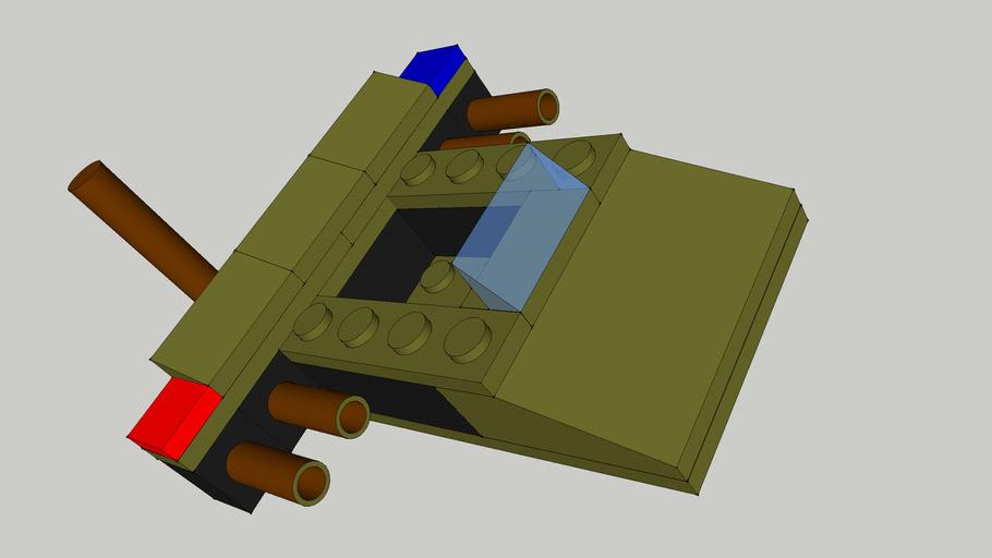 Military Police Lego Hovercraft