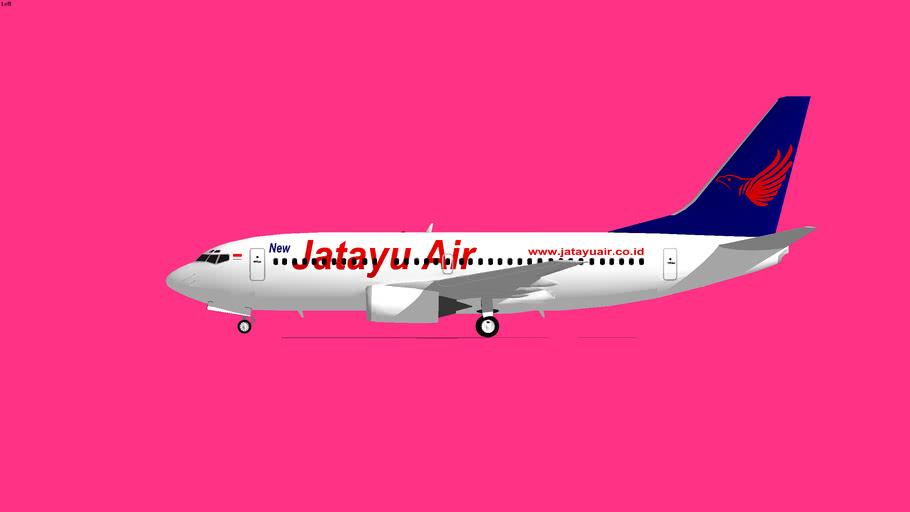 Jatayu Airlines Boeing 737-300 3