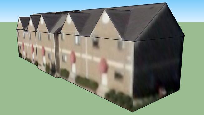 Bâtiment situé Houston, TX, USA