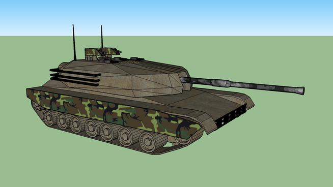 Woodland Tank [2]