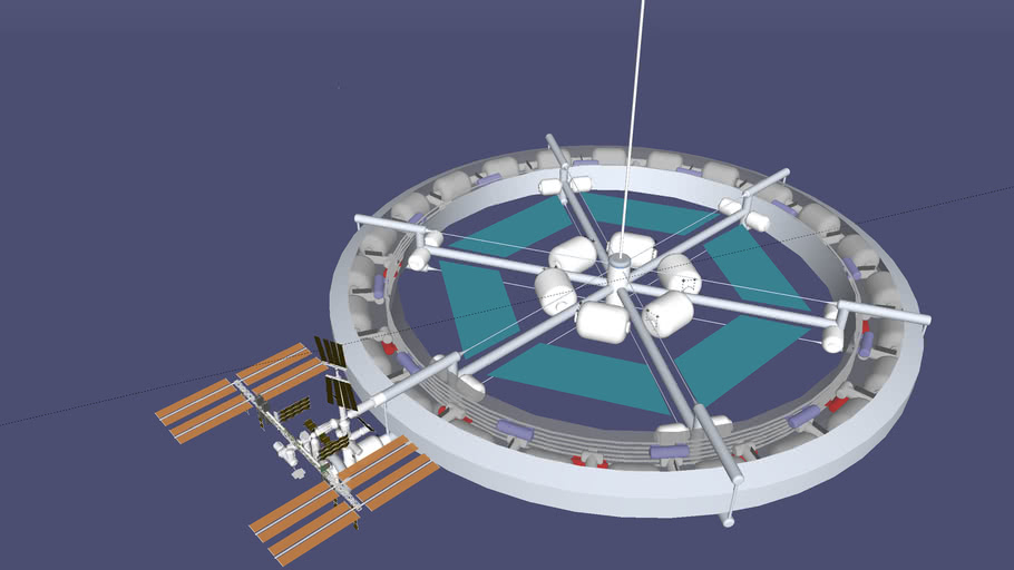 BTE Orbital construction facility