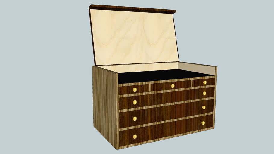 Heirloom Tool Chest - Woodsmith Shop