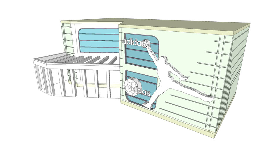 Adidas Shop 3D.