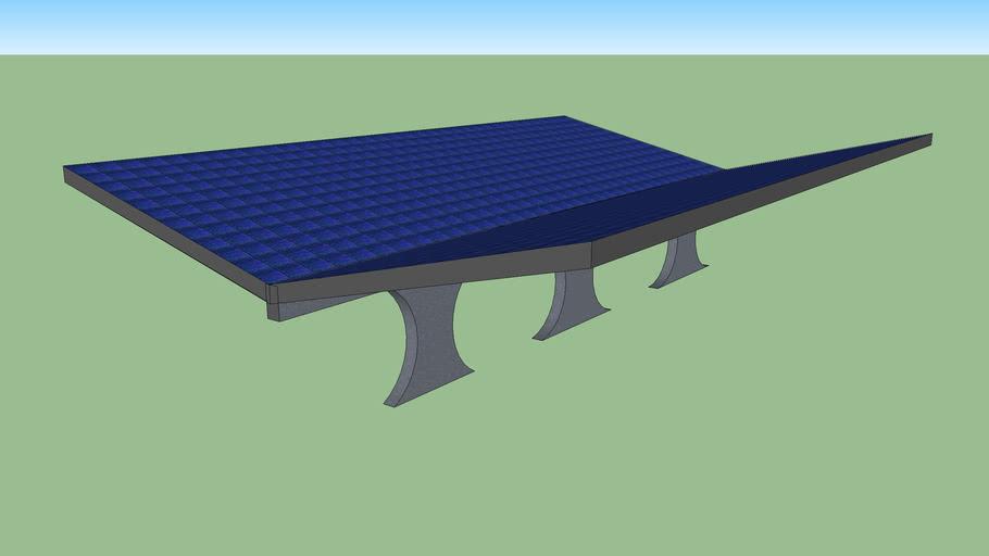 Couverture de toiture photovoltaïque