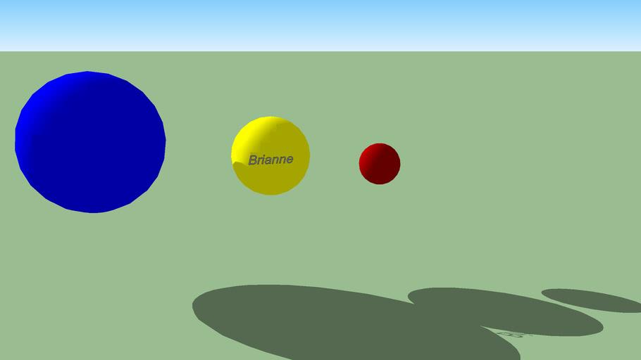 My Sphere By: Brianne
