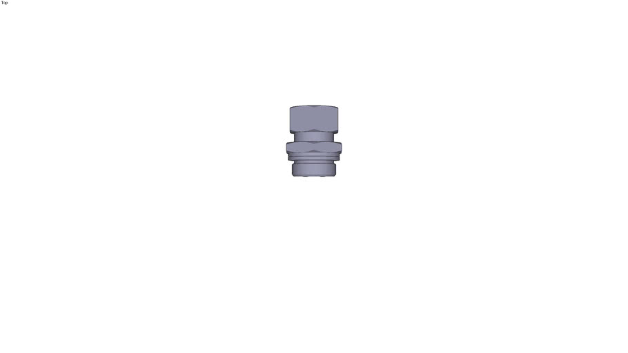 0101 - MALE STUD COUPLING BSP PARALLEL AND METRIC DIAM D 22 MM C G1