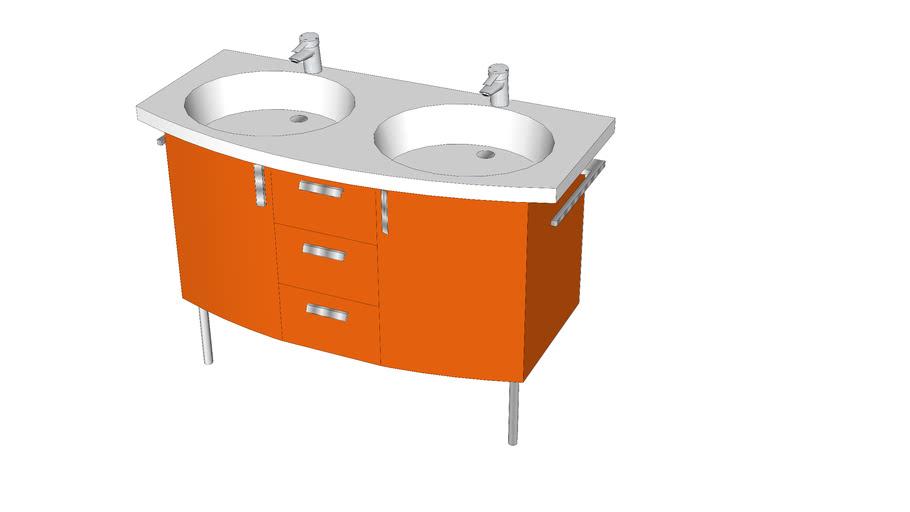 Meuble salle de bain SANIJURA Spice up | 3D Warehouse