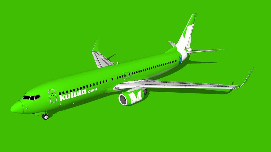 Kulula Boeing 737-8LD(WL)