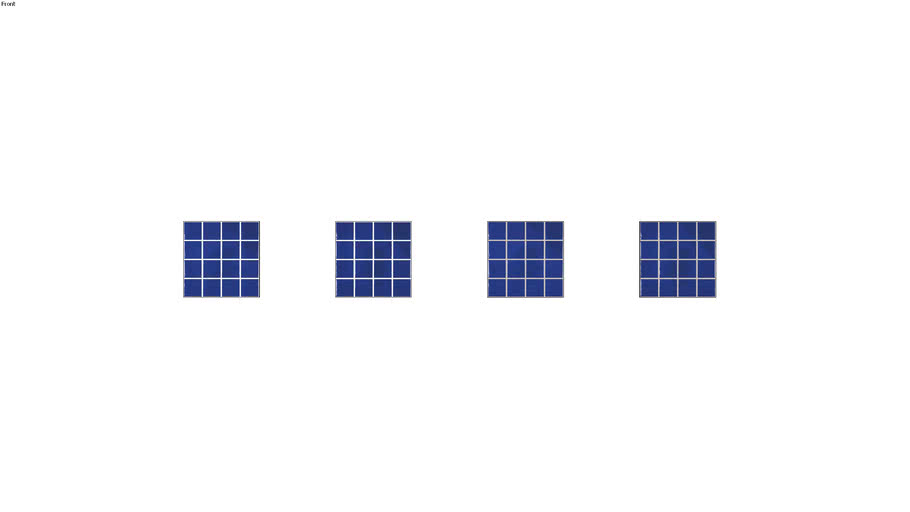AZUL NORONHA 7,5X7,5 TEL - PORTOBELLO