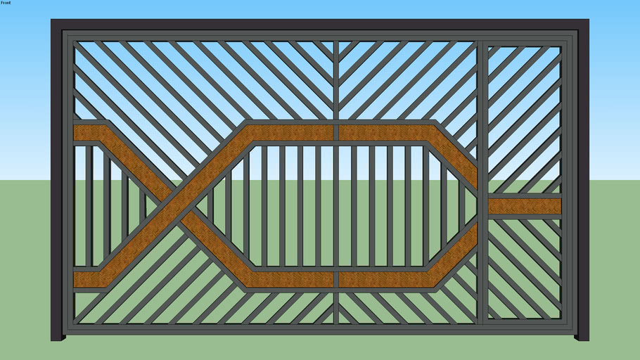 gate, residential REJA