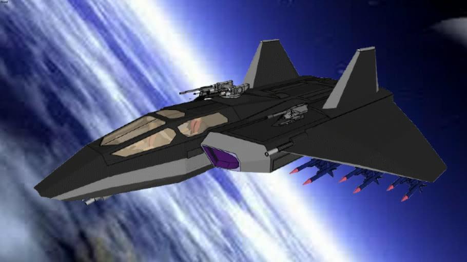 XF422-Tornado - spacefighter class