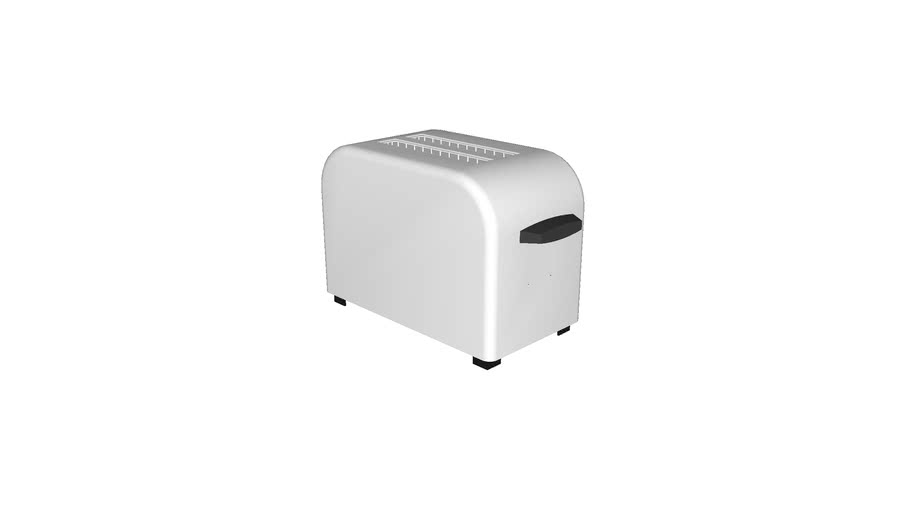 Countertop Toaster - Detailed