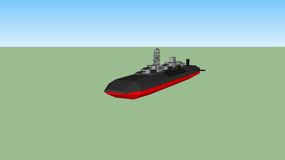 fuso class space battleship
