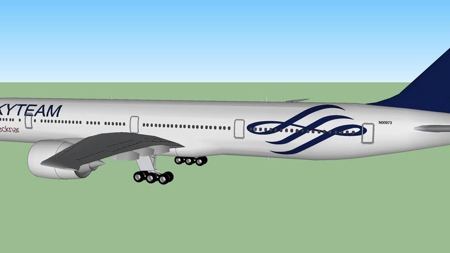 Decknar Airlines Boeing 777-3D9 SkyTeam Livery