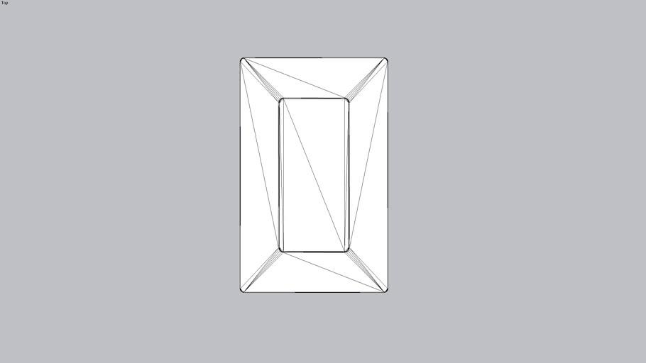 iPod 5th, 6th, & 7th Gen compatible VidaMount On-wall Slim Mount