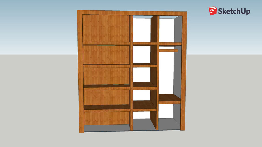 Pantry (inside) by Legno Services