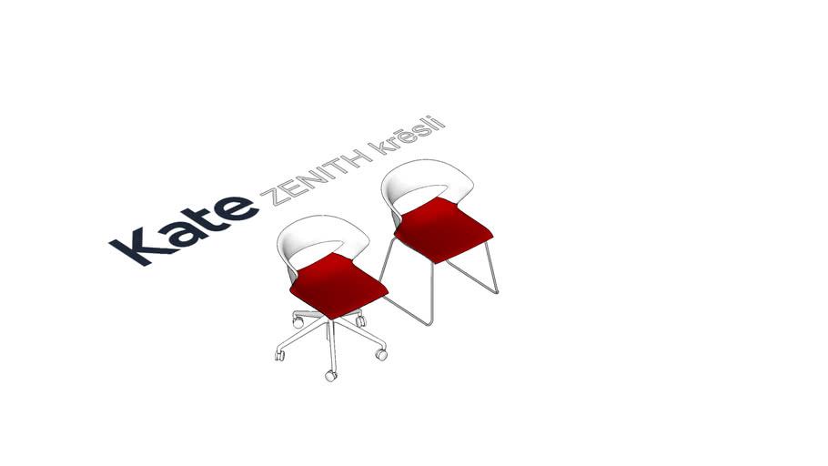 KATE Zenith Apmeklētāju krēsls